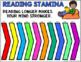 Timer for Reading Stamina: Count UP:  5, 10, 20, and 30 minute timers