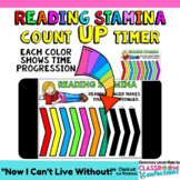 Timer for Reading Stamina: Count UP:  5, 10, 20, and 30 mi
