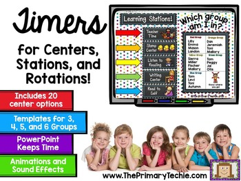 Timers for Centers, Stations, and Rotations