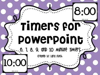 timers for powerpoint 6 10 minute timers