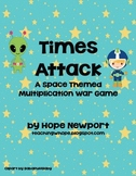 Times Attack: A Space Themed Multiplication War Game