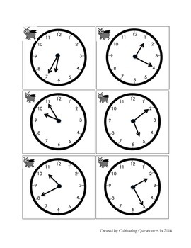 Times Flies: Telling Time -- Nearest Five Minutes on Analog and Digital Clocks