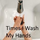 Times I Wash My Hands--Explicit, Visuals, Self-Monitoring,