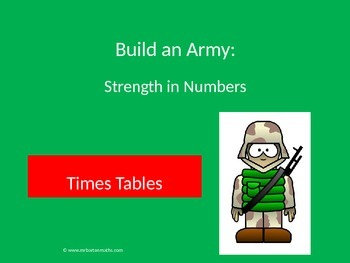 Times Table Activity: Build an Army