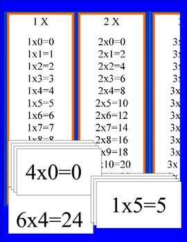 Times Table Banner