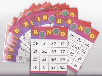 Times Table Bingo - Class set