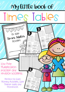 Times Table Booklets