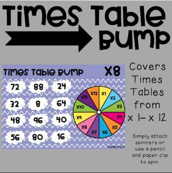 Times Table Bump