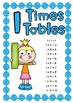 Times Table Charts