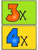 Times Table Class Checklist - Polka Dot