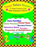 Times Table Mastery Common Core Standard 3.0A.07