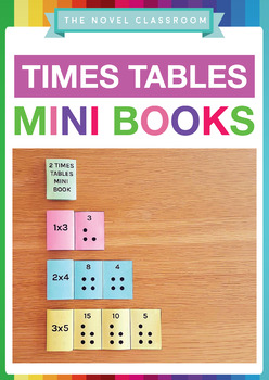 Times Table Mini Books - for the 2, 3, 4, 5 and 6 times tables