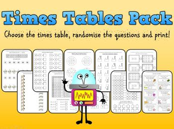 Times Table Pack