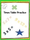 Times Table Practice