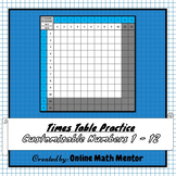 Times Table Practice (Customizable)