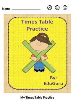 Times Table Practice Self Assessment