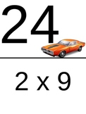 Beginning Multiplication Scavenger Hunts - 2's, 3's, 4's, and 5's