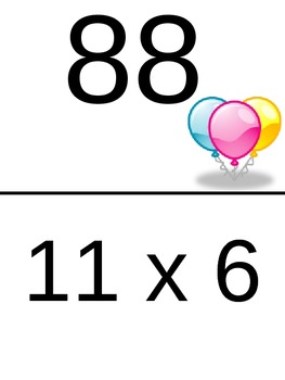Beginning Multiplication Scavenger Hunts - 9's, 10's, 11's, and 12's