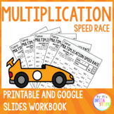 MULTIPLICATION SPEED RACE // PRINTABLES // TIMES TABLE CHALLENGE