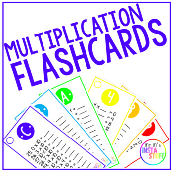 Times Table Flashcards