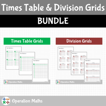 Times Table and Division Grids