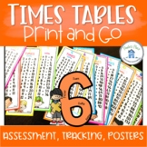 Times Tables Display and Tracking Assessment