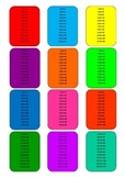 Times Tables Cards