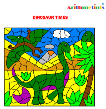 Times Tables Coloring Puzzle by Arithmetints
