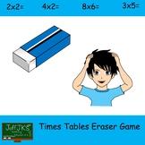 Times Tables Eraser Game