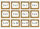 Times Tables Flash Cards - Multiplication - Independent/Gr