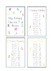 Times Tables Flip Book
