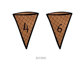 Ice Cream Math: Times Tables 2 - 12