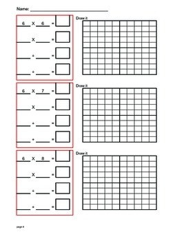 Times Tables Grids