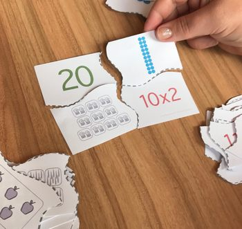 Times Tables Matching Activity BUNDLE