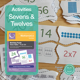 Times Tables Matching Activity - SEVEN'S & TWELVE'S