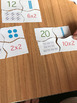 Times Tables Matching Activity - TWO'S, FIVE'S and TEN'S