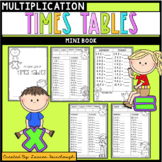 Times Tables Mini Book