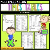 Times Tables Mini Book