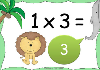Times Tables Power Point Pack: Learning & Practicing the 3 x Table