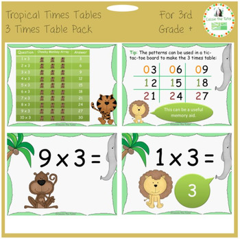 Times Tables Power Point Pack: Learning & Practicing the 3