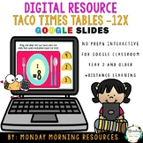 Times Tables Tacos to 12x - Google Slides - Digital Resour
