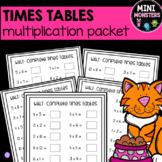 DISTANCE LEARNING Times Tables Worksheets