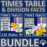 Times Tables and Division Facts, Square Numbers, Square Ro