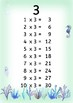 Times Tables posters - underwater theme