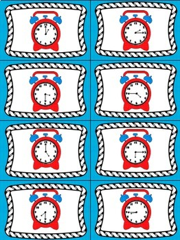 Time's Up! 5 Card Games for Telling Time to the Quarter Hour