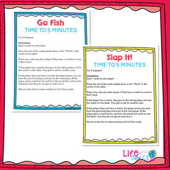 Time to 5 minutes: 5 Card Games for Telling Time