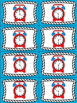 Time's Up! 5 Card Games for Telling Time to the Half Hour