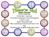 Times Up! Gameboards...Hour and Half Hour