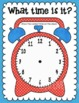 Time's Up! Task Cards & Play Dough Mat for telling time from hour to 5 minutes
