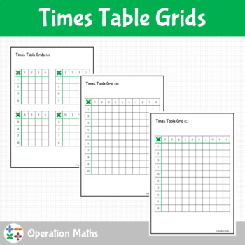 Times Table Grids